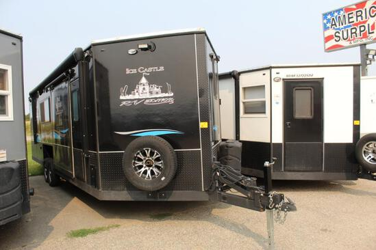 ***2019 AMERICAN SURPLUS 8' X 28' BLACK KNIGHT RV EDITION ON VALLEY TANDEM AXLE FRAME, ARCTI PACKAGE