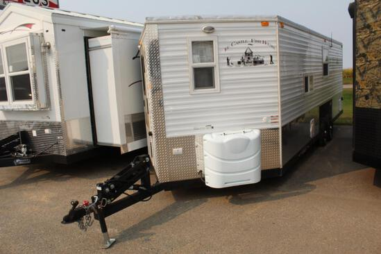 *** 2021 AMERICAN SURPLUS ICE CASTLE 8' X 22' RV EDITION ON TEBBEN TANDEM AXLE FRAME,