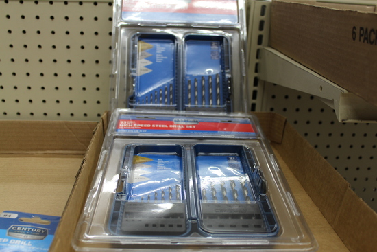 (2) NEW SETS OF HIGH SPEED DRILL BITS, 13 PIECE