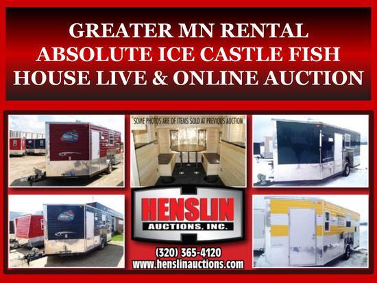 ICE CASTLE FISH HOUSE LIVE & ONLINE AUCTION