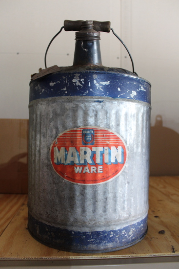 Antique 5gal oil can