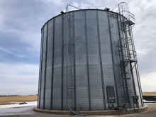GSI GRAIN BIN, 48 FT DIAMETER, 10 RING,