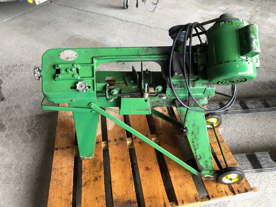 METAL BAND SAW WITH MOTOR