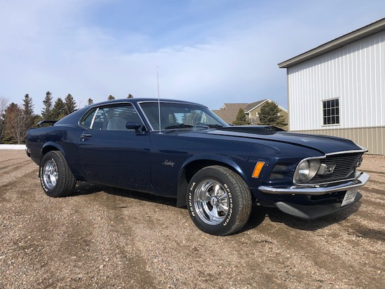 *** 1970 FORD MUSTANG FASTBACK, CRAGER SS WHEELS,