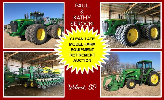 PAUL & KATHY SEROCKI - LATE MODEL FARM EQUIPMENT