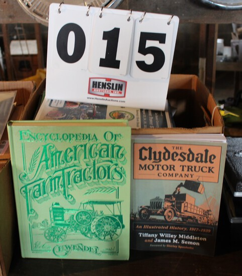 ENCYCLOPEDIA OF AMERICAN FARM TRACTORS AND OTHER MAGAZINES