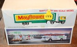 MAYFLOWER TRUCK AND TRAILER TOY, HESS OIL TRUCK