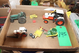 1/32ND SCALE CASE TRACTOR, 1/64 CASE TRACTOR, AND OTHER TOYS