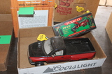 DODGE PICKUP (NO BOX) AND AND TEXACO KENWORTH STEAK TRUCK TOY, BOX HAS WEAR