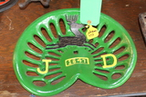 JOHN DEERE CAST IRON SEAT, REPRODUCTION