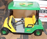 JOHN DEERE GOLF CART BANK IN A BOX, BOX HAS WEAR