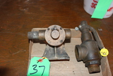 STEAM POP OFF VALVE AND BELT DRIVEN WATER PUMP