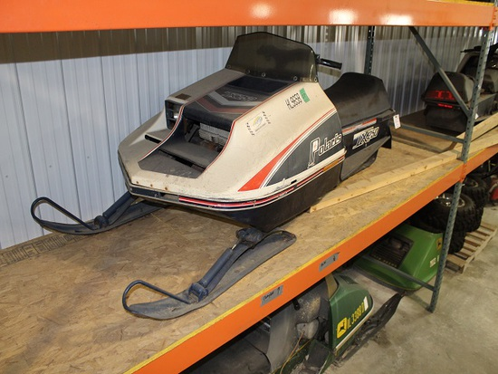 1977 Polaris TX250 Snowmobile, Running Condition, Cleats, Studs, 1587 Miles