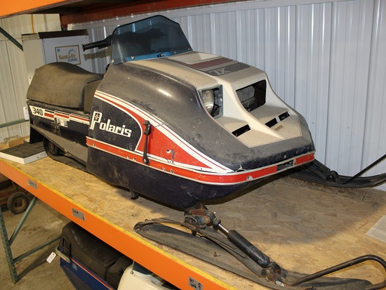 1978 Polaris 340 Snowmobile, Running Condition, 5799 Miles Showing, SN- 052