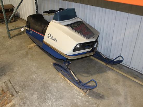1973 Polaris TX250 Snowmobile, Fresh OH, Running Condition, 1407 Miles Show