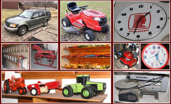 TIMED ONLINE- MIKE & JANICE ULFERTS MOVING AUCTION
