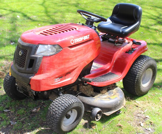 TROY BILT TB-42 7-SPEED, 420CC ENGINE,