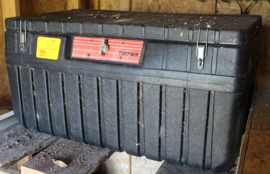 SMALL PICKUP TOOL BOX TUFF BIN