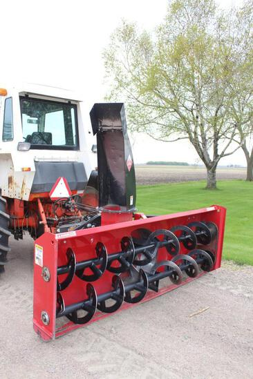 Like New Red Devil Snowblower, 9' 2 Auger, Hyd spout, Hyd deflecter, 540 PTO