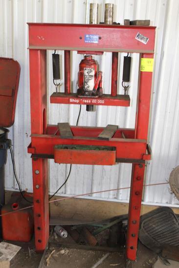 Hi Quality 30T Manual Hydraulic Press