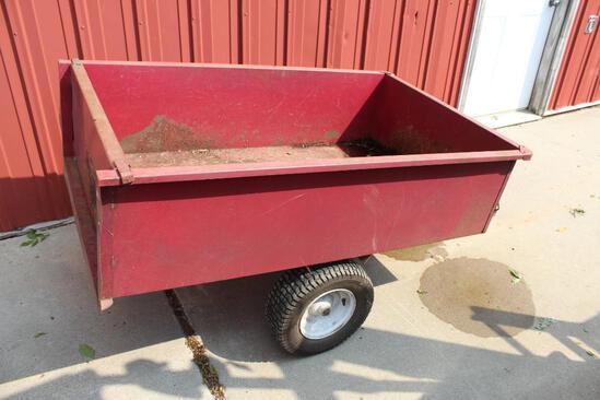 "Precision Products (Big Hog) 2 Wheel Yard Cart 34""x 57"" Bed"