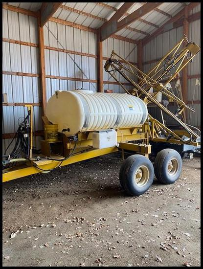1999 Ag Chem 750 Gal Sprayer w/ 60' Hyd Boom, 750 Poly Tank, Hyd Pump,