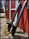 (2) Clamp On Pallet Bucket Forks