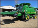 1997 John Deere 9500 Combine with Green Star Y&M, Display & 10 Series Updates, 1911/3027 Actual Hrs!
