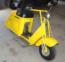 ***1947 Cushman Step Thru Scooter