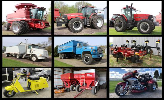 CASE IH FARM EQUIPMENT AUCTION-DALE & JEAN DOMEIER