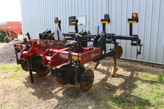 "CaseIH 2500 Subsoiler, Mounted, 4 Shank, 30"" Spacing, 7"" Points,"