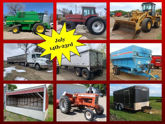 TRUCKS, TRAILERS, FARM & CONSTRUCTION EQUIPMENT