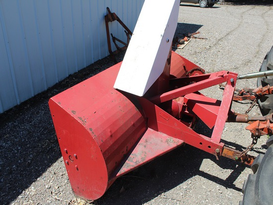 """78"""" Snowblower, Single Auger, 540 PTO, Was Used On AC D-17., Tax No Exempti"""