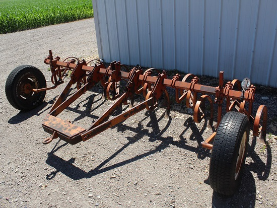 12' AC Field Cult With Front Gauge Wheels W AC Hitch, Tax Or Sign, Located