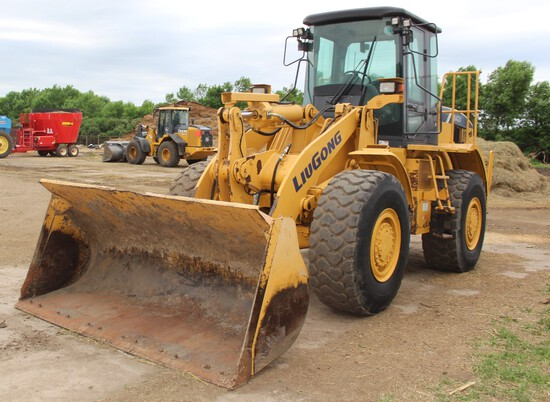 2012 842 LIUGONE Payloader, 4x4, Approx 3 Yard Bucket, Approx 4400 Hrs, 3rd
