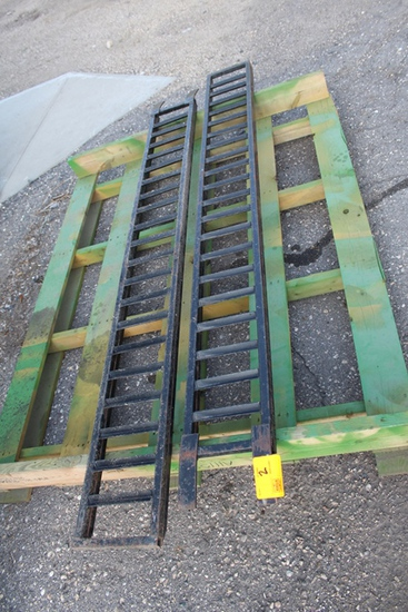 """(2) Steel ATV Ramps, 10""""x7.5', Tax No Exemption, Located 520 Dupont Ave. NW"""