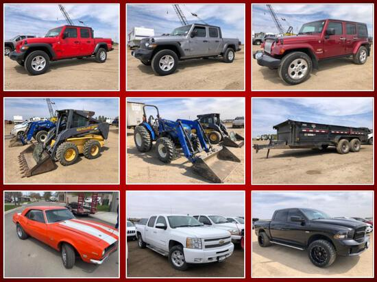 APPROX 30 VEHICLES AND OTHER ITEMS -SECURED LENDER