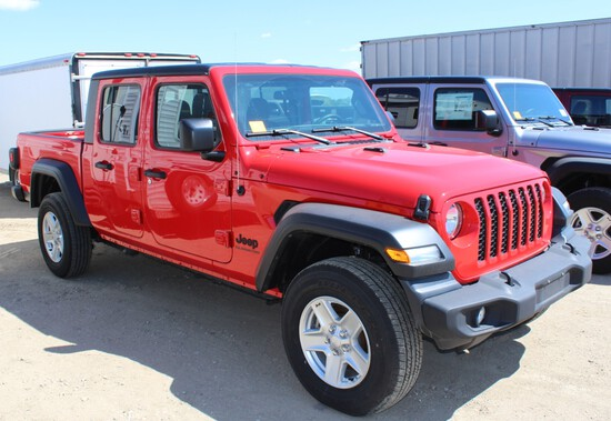 2020 Jeep Gladiator Sport 4x4, Trail Rated, Package 24S, Firecracker Red,