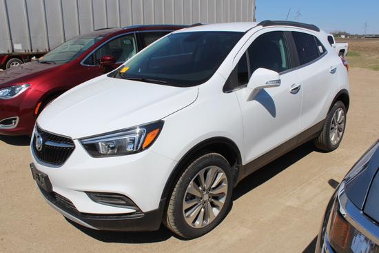 2019 Buick Encore Preferred AWD, Summit White, Ebony Int, EcoTec Turbo 1.4L
