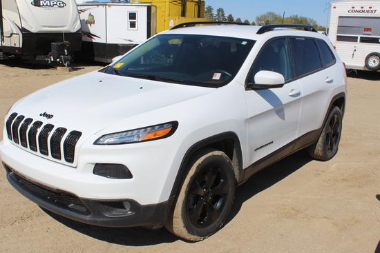 2016 Jeep Cherokee 4x4, Multiair 2.4L, Auto Trans, Selec-Terrain,