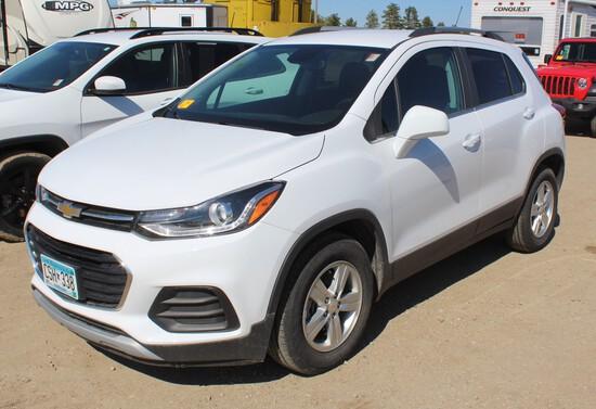 2019 Chevrolet Trax, EcoTec 1.4L, Auto Trans, PW/PL, Cloth Bucket Front Seats,