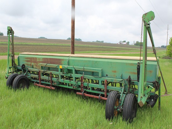 Great Plains Solid Stand 20' Mounted Press Drill, Markers, (4) Track Scratc