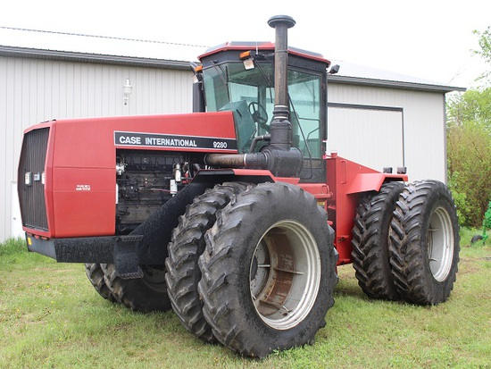 1991 CaseIH 9280 4WD Tractor, PS with Skip Shift, Good Year 20.8R42 Duals,