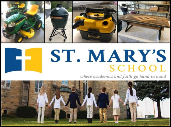 ST. MARY'S SCHOOL TIMED ONLINE ANNUAL FUNDRAISING