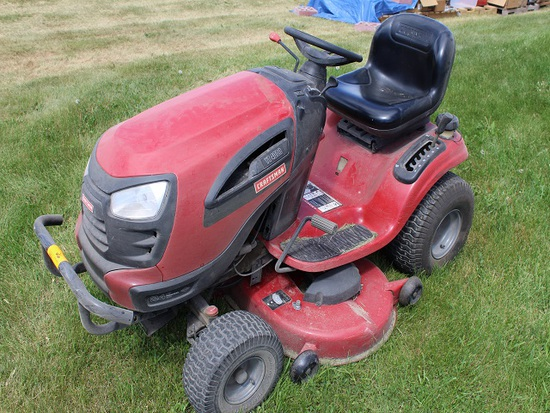 """Craftsman YT4000 Lawn Tractor, 46"""" Deck, 24HP, Front Bumper, 237 Hours Show"""