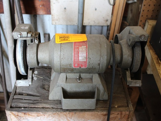 "Bench Grinder on Stand, 6"", 1/3 HP"