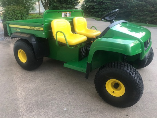 2016 JOHN DEERE TS 4X2 GATOR, 114.3 HRS, LIGHTS,
