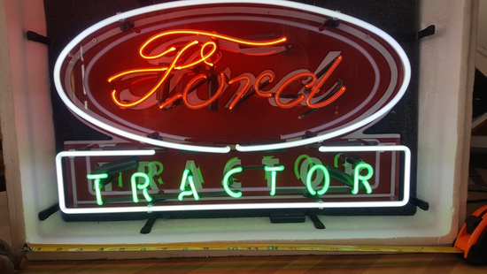 NEW FORD NEON SIGN, NO SHIPPING