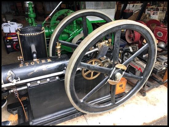 JIM & CATHYE MCCRACKEN RARE GAS ENGINE COLLECTION