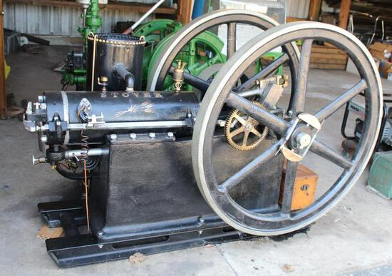 Stover 6HP Fully Restored Complete Gas Engine, Igniter Fired,